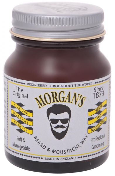 morgans pomade  Morgan's Pomade Beard and Moustache Wax, 50ml | Souq - UAE