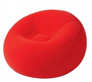 Astounding Bestway Beanless Bag In Flate Chair Red 75052 Dailytribune Chair Design For Home Dailytribuneorg