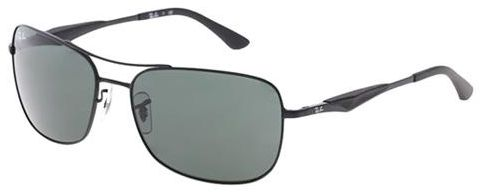 1300c95aa84 Ray-Ban Square Frame Unisex Sunglasses - RB3515-006-71-61