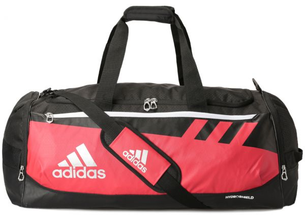 5c90ecaa6d Adidas Team Issue Large Duffel Bag for Unisex - Red Black