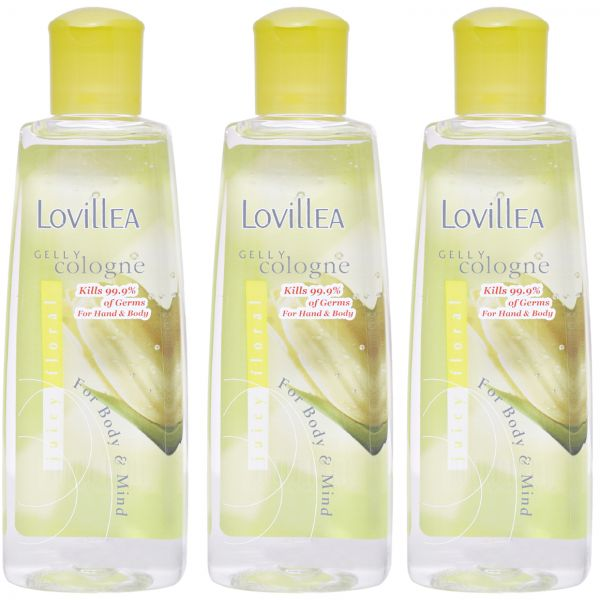 Gelly Cologne Juicy Floral By Lovillea For Women