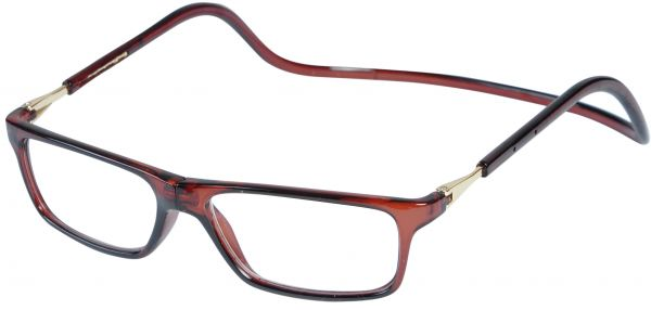 b8f9eb9060a Magnetic Reading Glasses Plastic 2.0 Brown