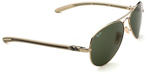 4136f05790 Ray Ban Unisex Aviator Carbon Fibre - RB8307-001