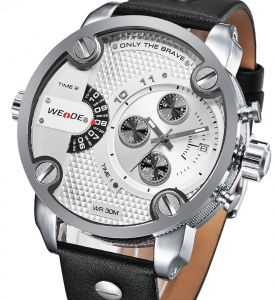 Weide Sport Watch For Men Analog Leather - WH3301-2C e5488239f1c