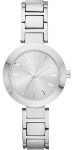 3e97bb1dd5f47 DKNY Stanhope Women s Silver Dial Stainless Steel Band Watch - NY2398