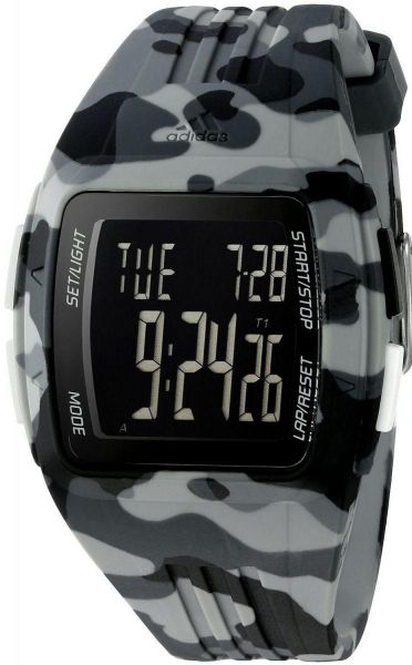 Buy Adidas Performance Duramo Men s Digital Dial Silicone Band ... 443ac8e42a