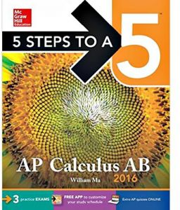 5 Steps to a 5 AP Calculus AB 2016 2nd Edition by William Ma - Paperback