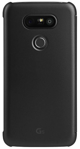 new product 0a714 37212 Quick Cover for LG G5 Mesh Folio - Black