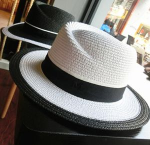 e30e5f5f98c8b Summer Women Beach Hat Straw Wide Brim Top Hat