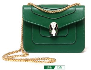 50a310ceb0ac Fashion Green Shoulder Bag For Women Summer Style Chain Crossbody Bag  Ladies Dress HandBag