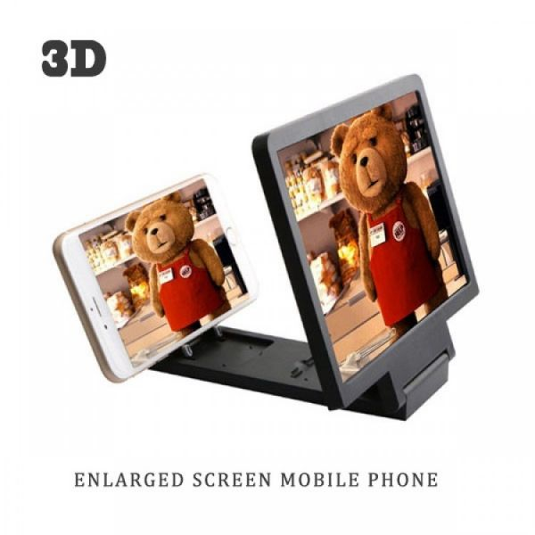 Mobile 3D Projector - Magnifier Folding Portable Mobile Screen HD Amplifier for iOS and Android.