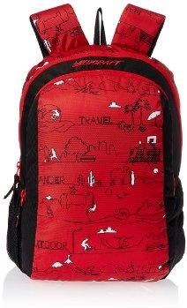 Wildcraft Scoot Ld Polyester Red Kids Casual Backpack 8903338018766