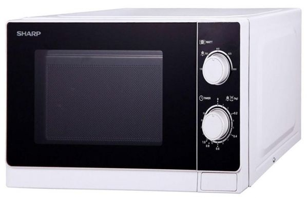 Microwave Oven Sharp 20 Litres White R 20as W