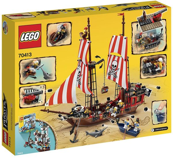 91084ccd80f2 LEGO Pirates The Brick Bounty 70413 Building Set