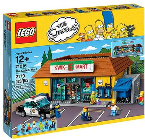Lego The Simpsons The Kwik E Mart 71016 Building Set Souq Uae