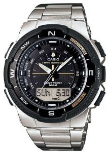 Casio SGW-500HD-1BVDR For Men- Analog, Digital