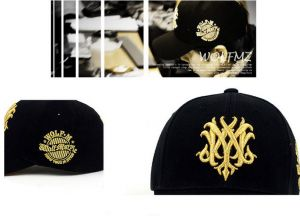 fe6e36095d2ae Fashion unisex handmade gold embroidery lovers outdoor sport baseball cap  black BH03-3