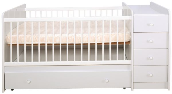 This item is currently out of stock  sc 1 st  Souq.com & Souq | Mon Ami Baby Crib Cabinet and Storage with Mattress White ...