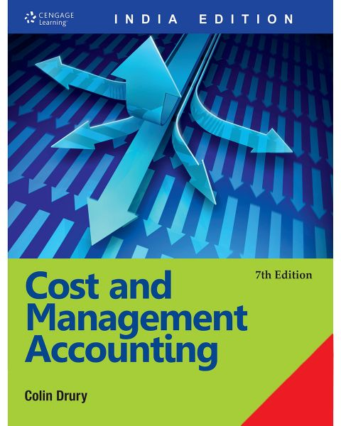 Cost and Management Accounting by Colin Drury - Paperback