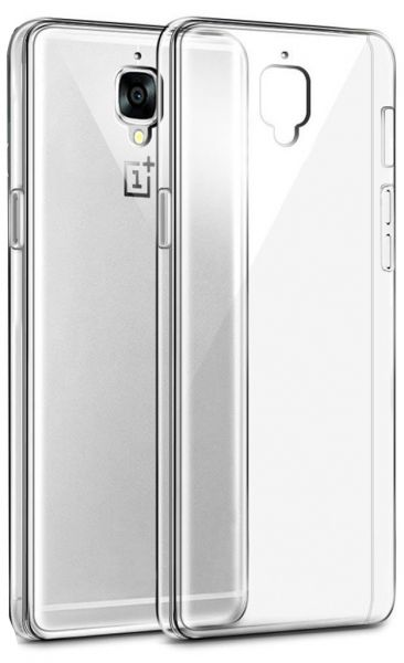 new concept ce2fc 985e8 OnePlus 3 Ultra Slim Flexible TPU Protective Case Cover for OnePlus 3 -  Clear