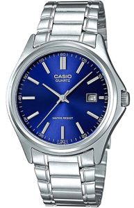Casio Women's Blue Dial Stainless Steel Band Watch - LTP-1183A-2A