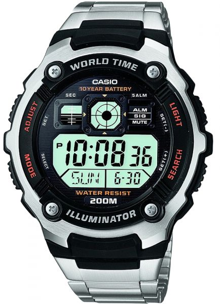 2dd198fcd21 Casio AE-2000WD-1A For Boys-Digital