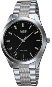 Casio Fashion for Men - Analog Stainless Steel Band Watch - MTP-1274D-1AV