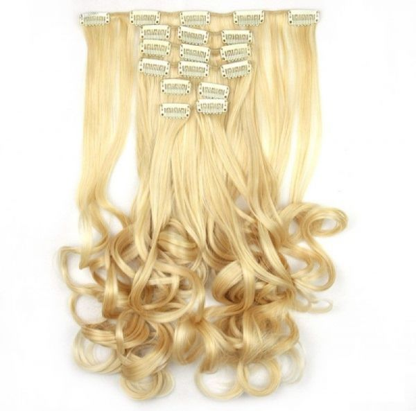 Souq Synthetic Hair Clip Extensions Uae