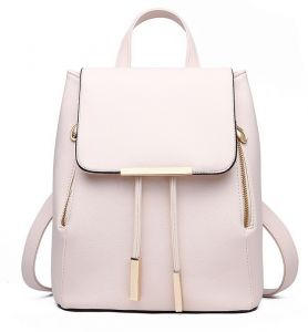 013d339e6ea3 women Faux Leather casual backpack multi-function travel - schoolbag B2701