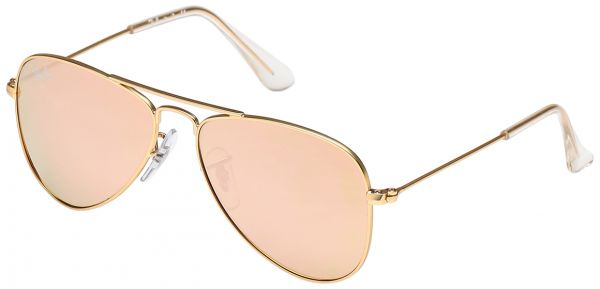 ab435f70402 Ray-Ban Aviator Gold Kids Sunglasses - RJ9506S-249 2Y-50-50-13-120 ...
