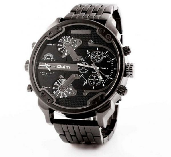 Oulm Casual Watch For Men Analog Stainless Steel - 3548