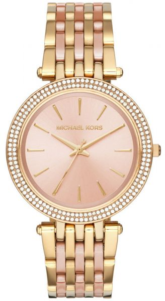 1d5bf1de407d Michael Kors Darci Watch for Women - Analog Stainless Steel Band ...