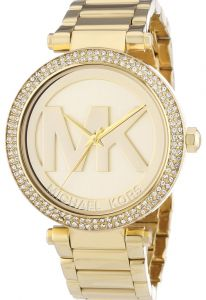 2e457bcaf0e Michael Kors Parker Watch for Women - Analog Stainless Steel Band - MK5784