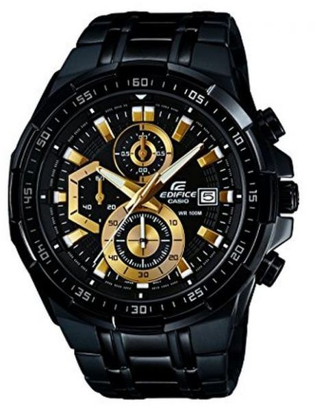 Casio Edifice for Men - Analog Stainless Steel Band Watch - EFR-539BK-1AVUDF   8aaf5c259