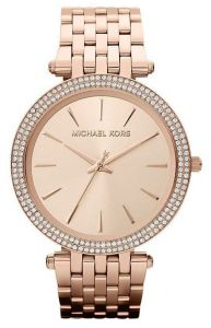 64189553dc Michael Kors Darci Watch for Women - Analog Stainless Steel Band - MK3192