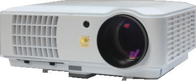 I-view Hd 720p 3d Projector With 2600 Lumens