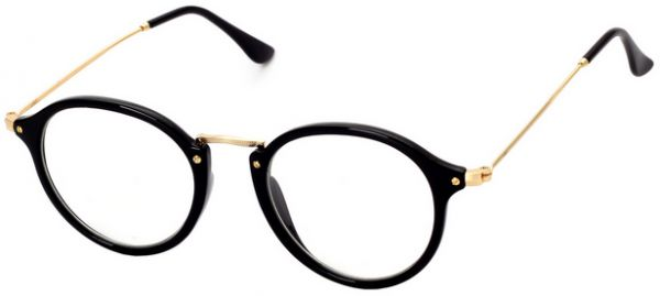fde441f3178 Korean Style Ultralight Metal Frame Eyeglasses Retro Cute Flat Eyewear for  Unisex. by Other