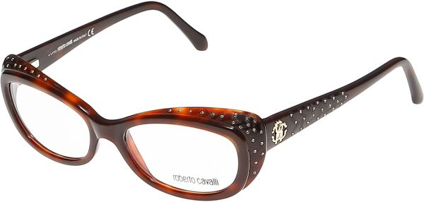 Souq | Roberto Cavalli Cat Eye Dark Havana Women\'s Frames - Rc 0780 ...