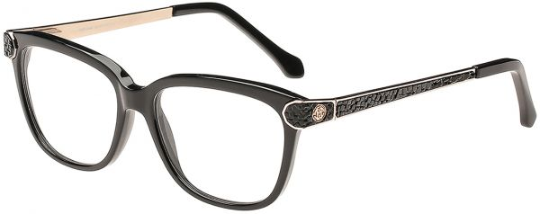 Souq | Roberto Cavalli Wayfarer Black Women\'s Optical Frame - Rc ...