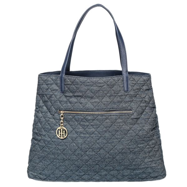 Tommy Hilfiger 6932650462 Tote Bag For Women Navy Blue