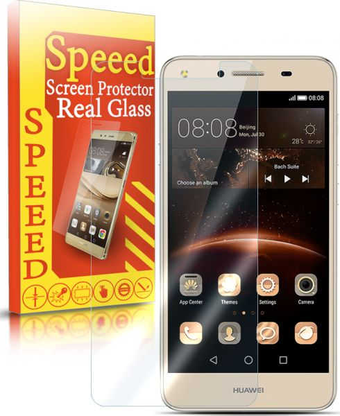 Speeed HD Real Glass Screen Protector for Huawei Y5 II - Clear