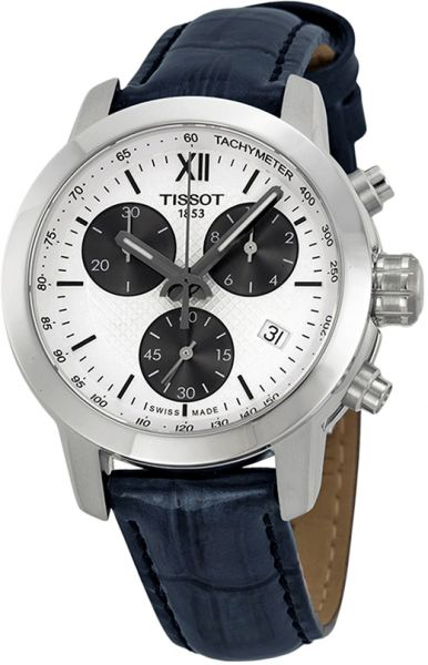 Tissot Prc 200 Fencing Women s White Dial Leather Band Watch -  T0552171603800  417118353d