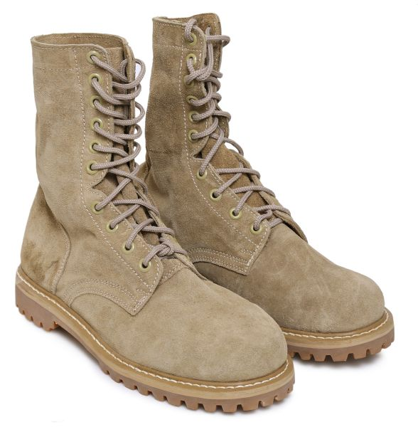 Moda Rodeo Brown Army Boot For Unisex  0b71815a6b5