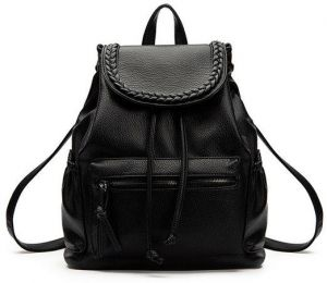 9850d4aa2764 Korean Style Backpack Soft Leather Comfortable Sweet Backpack for Women -  Leather