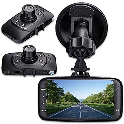 "GS8000L Night Vision HD 1080P 2.7"" 120 Degree Car DVR G-sensor HDMI Vehicle Camera Video Recorder Dash Cam Motion Detection"