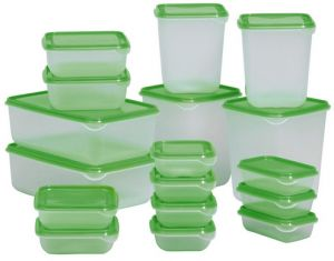 Food Sauce Storage Container Set Of 17