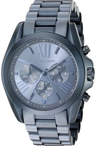 2fb9f09bb784 Michael Kors Men s Chronograph Blue Dial Stainless Steel Band Watch - MK6248