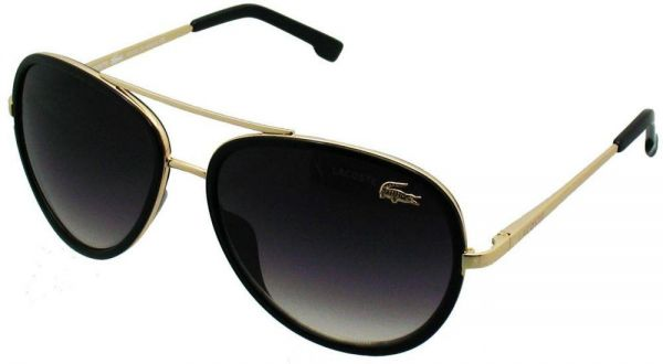 5950332058b LACOSTE SUNGLASSES MODEL- L142 S Black   Golden