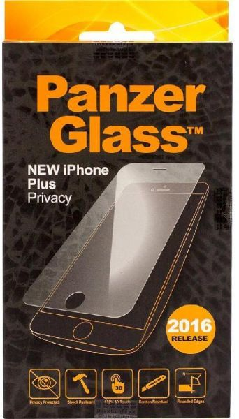 PanzerGlass for iPhone 7 Plus (Tempered Glass - Privacy)