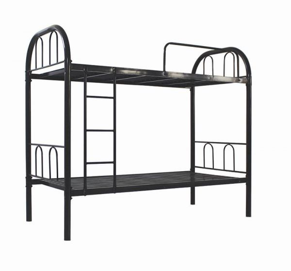 Iron Metal Bunk Bed Black 190l X 90w X 83h Cm Souq Uae